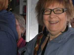 My Friend Karin Sohlgren At The Bio Rio Cinema